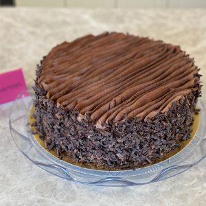 Belgická čokoládová torta z Ružovej cukrárne Nitra