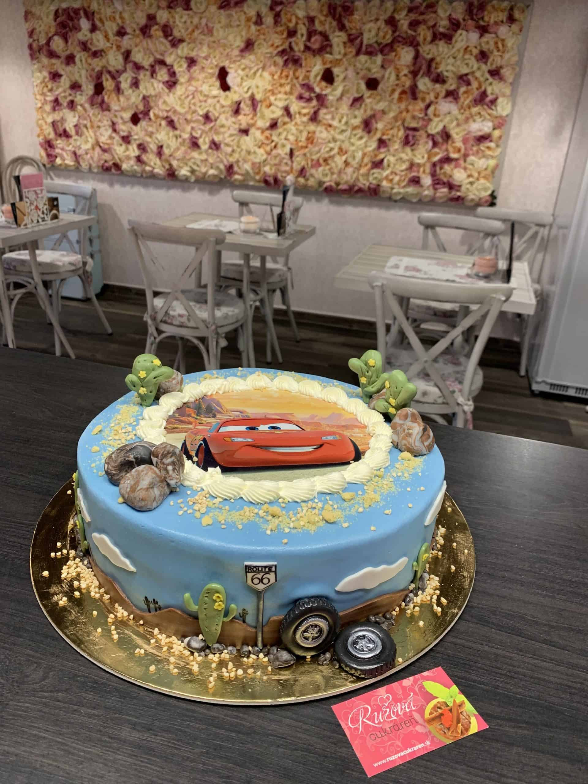 Torta na mieru - McQueen torta