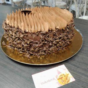 Belgická čokoládová torta.