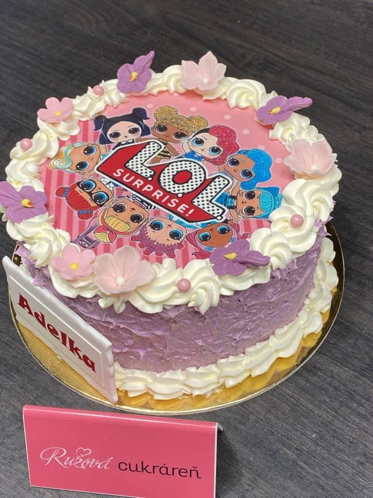 Narodeninová torta 8 porciová. Torty Nitra