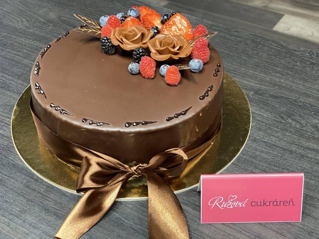 Hotové torty Ružová cukráreň Nitra