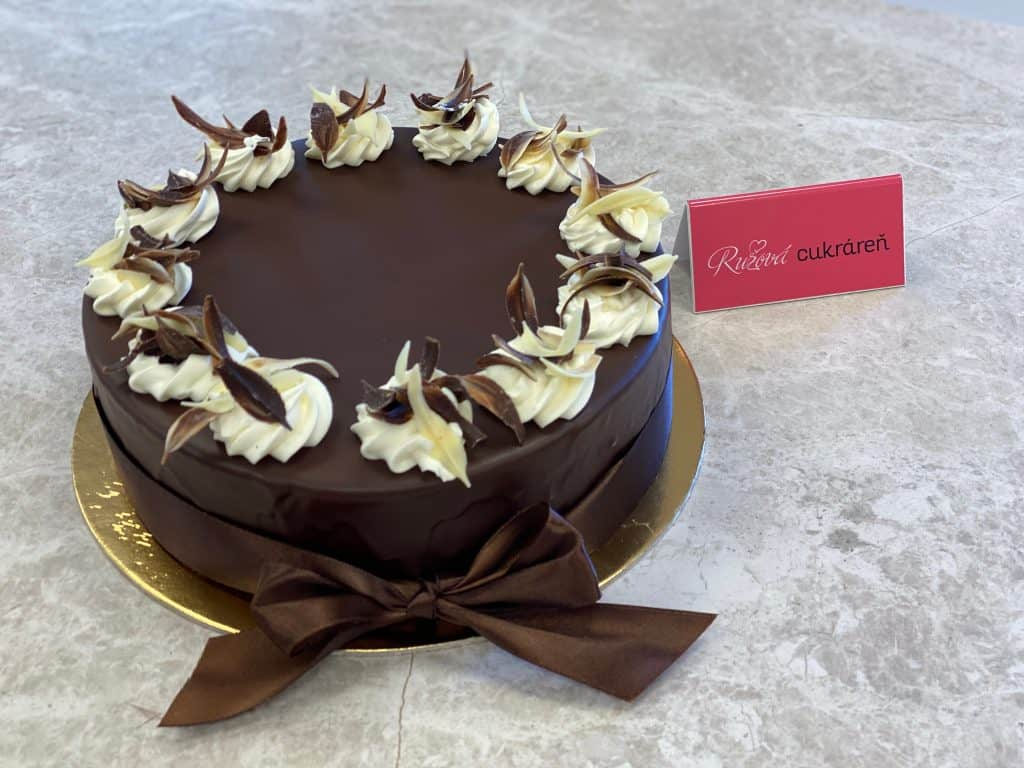 Bnánová torta.